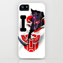 Tarn Takes Cybertron iPhone Case