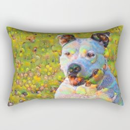 Dream Dog Rectangular Pillow