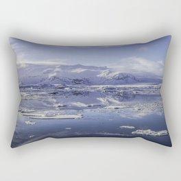 Glacial Lagoon 08 Rectangular Pillow