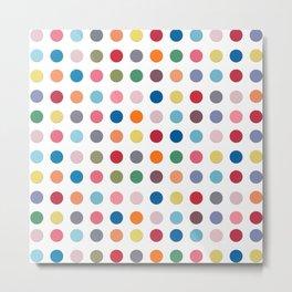 Polka Dots - Color Love Metal Print