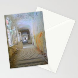 Lost Places, Beelitz Heilstaetten corridor Stationery Cards