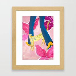 Come along with Me Framed Art Print