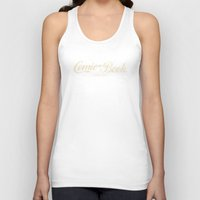 comic book Tank Tops featuring Comic Book Collector (Coke Style) by 1982 est. by A.W. Owens