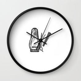 I Fix 10$ Hair Cuts Hairstlye For Barbers Hairstylists Wall Clock