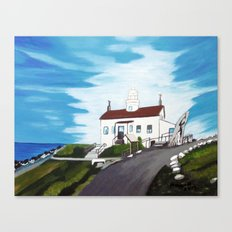 Battery point Lighthouse ( Crescent City, CA ) Canvas Print
