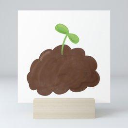 Cute Seedling Mini Art Print