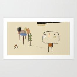 The choise Art Print