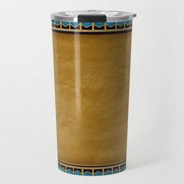 Egyptian Revival / Art Deco Pattern Travel Mug