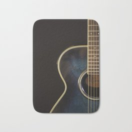 Acoustic Guitar Colour Bath Mat