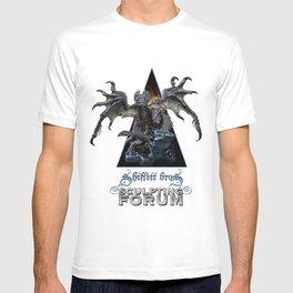 Talula and the Stray / Shiflett Bros. Sculpting Forum Logo T-shirt