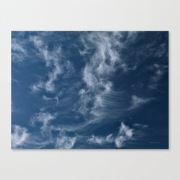 Cirrus Clouds 3 Canvas Print