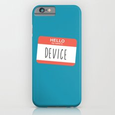HELLO my name is... Slim Case iPhone 6s