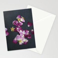Wild Rose Petals Stationery Cards