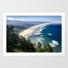 Coastline - Oregon Coast Art Print