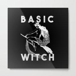 Basic Witch Metal Print