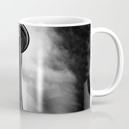 Space Needle Black and white Coffee Mug