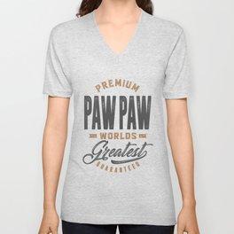 Gift for PawPaw Unisex V-Neck