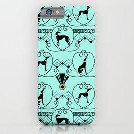 Deco Greyhound iPhone Case