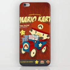 mario kart vintage iPhone & iPod Skin