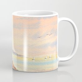 Pebble Beach Lone Cypress Tree Coffee Mug