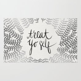 Treat Yo Self – Silver Rug