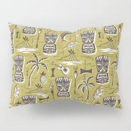 Tropical Tiki Green Pillow Sham