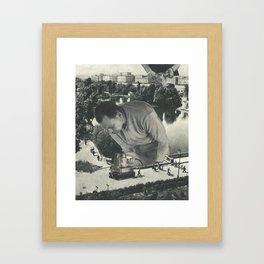"""""""Attention"""" Framed Art Print"""
