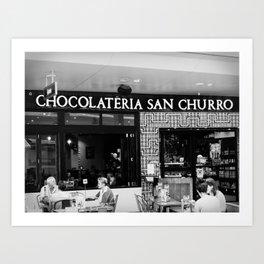 Chocolateria Art Print