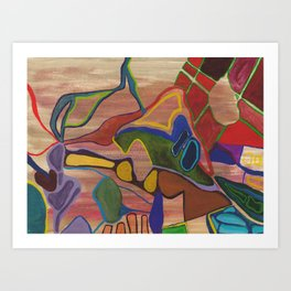 Brooklyn Summer #7 Art Print