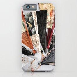 Vintage Hand Fans iPhone Case