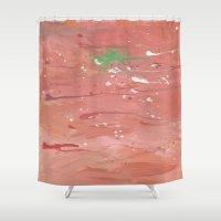 splatter Shower Curtains featuring Splatter by Kyliedelane