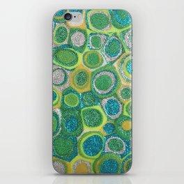 Dotty Glitter iPhone Skin