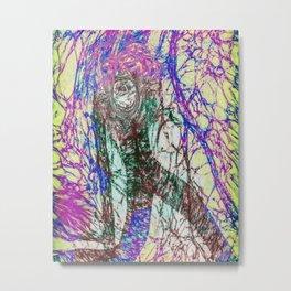 Scream with Me Metal Print