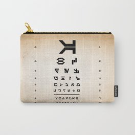 Aurebesh Eye Chart Carry-All Pouch