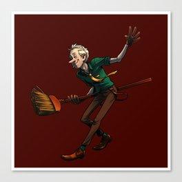 Broom Dancin' Canvas Print