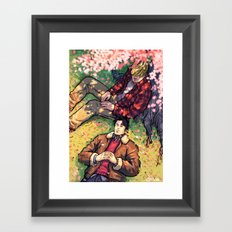 William and Theodore 20 Framed Art Print