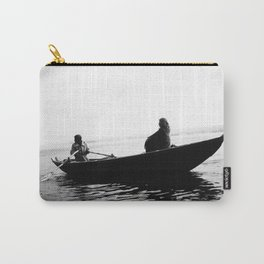 In search of peace, Varanasi. INDIA Carry-All Pouch