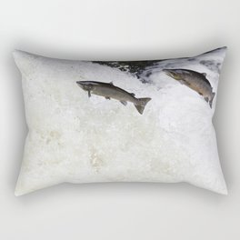 Double trouble Rectangular Pillow