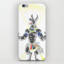 Anpu of the Underworld iPhone Skin