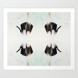 Tenderness - Black and White Art Print