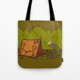 Skin Tent Tote Bag