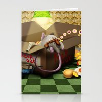 sofa Stationery Cards featuring Oook builds a sofa by togsos