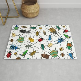 Beetles Pattern Rug