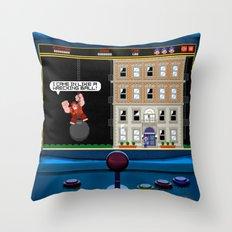 Wrecking Ball Ralph Throw Pillow
