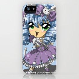 Neko Kitty Girl Chibi iPhone Case