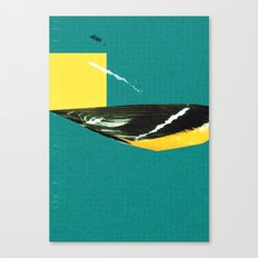 wing tear Canvas Print