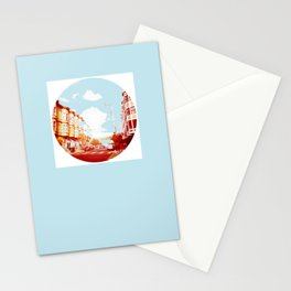 Near The South End of Folsom, San Francisco Stationery Cards