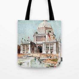 Vintage 1893 Chicago World's fair expo Tote Bag
