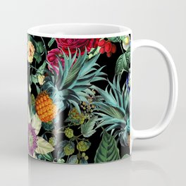 Floral and Fruit pattern Coffee Mug
