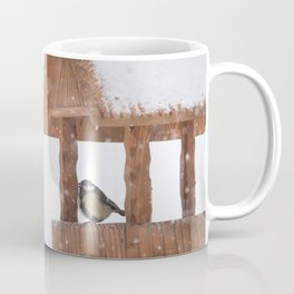 Parus Major bird Coffee Mug